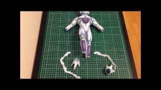 DRAGON BALL FREEZER MANGA PAPERCRAFT STOP MOTION - SCOUZY