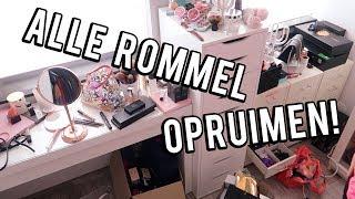 Opruimvideo ❤ Kledingkamer en beautyspullen   Beautygloss