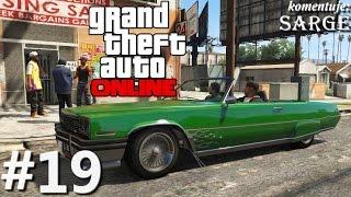 GTA V (Multiplayer #19) - Napad na sklep i wyścig powietrzny (Zagrajmy w GTA Online PS4)