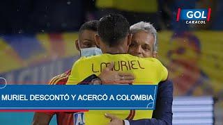 Colombia vs Argentina: gol de Luis Fernando Muriel desde el punto penal