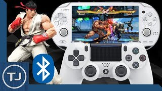 How To Connect PS4 Controller To PS Vita! (Bluetooth)