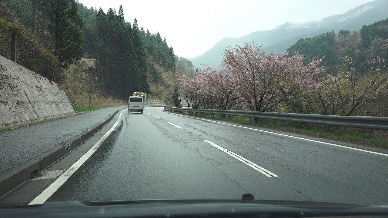 4K 国道194号・高知方面 等速 前...
