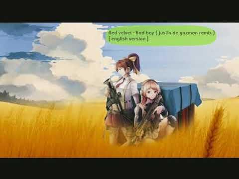 Red Velvet - Bad Boy ( Justin De Guzman Remix ) Englis Version