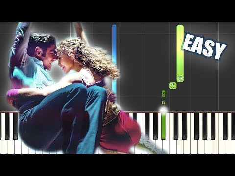 Rewrite The Stars - The Greatest Showman | EASY PIANO TUTORIAL by Betacustic