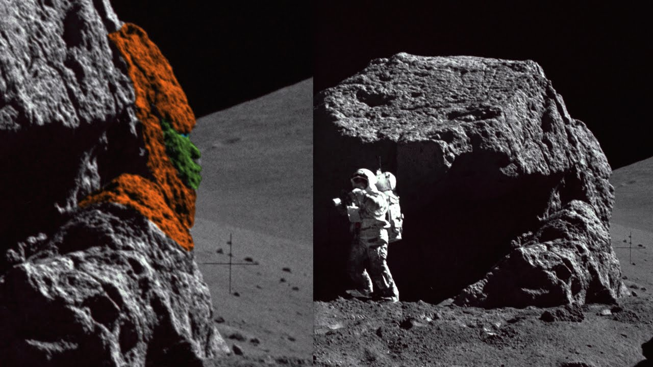 Alien Face Found On Moon In NASA Photo With Astronaut ...