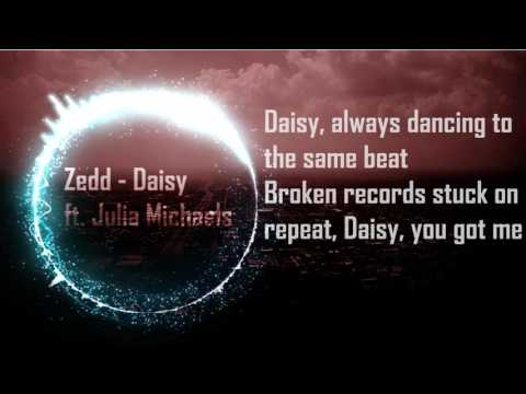 Zedd - Daisy ft. Julia Michaels - Lyrics (with spectrum)