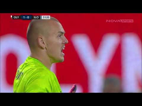 Olympiakos Slovan Bratislava Goals And Highlights