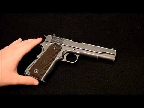 limited Edition Cybergun Colt 1911 A1 D-Day Anniversary Pistol