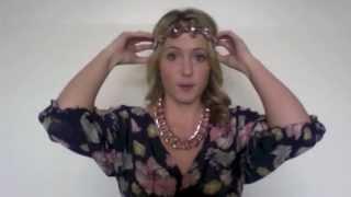 5 Ways to Wear Headbands - Hair Tutorial Thumbnail