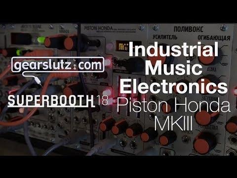 Industrial Music Electronics Piston Honda MKIII - Gearslutz @ Superbooth 2018