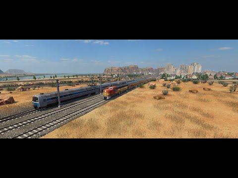 Transport Fever 2  - USA #001 Schnellzuglinie nach Salinas