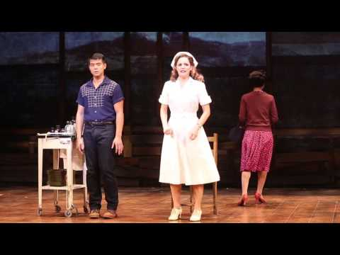 "Telly Leung and Katie Rose Clarke Sing ""I Oughta Go"" from ALLEGIANCE"