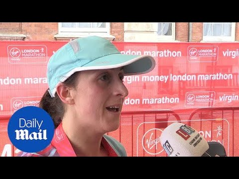 'Everything We Wanted' Natalie Cassidy Completes London Marathon
