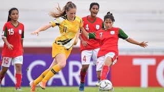 AFCU16W - M10 Australia 2 - 2 Bangladesh