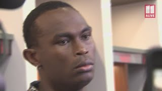 Julio Jones reacts to fans booing Falcons: 'I don't hear that s***'