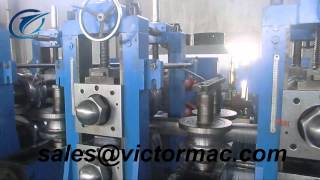 vzh 219 erw tube mill equipment rectangle and square pipe producing in egypt