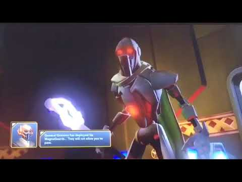 Disney infinity 3.0 stars wars part 2 twilight of the republic general grievous boss fight