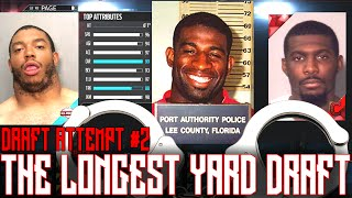 MUGSHOT SQUAD!!!!! | The Longest Yard Draft Attempt #2 | Madden 16 Ultimate Team