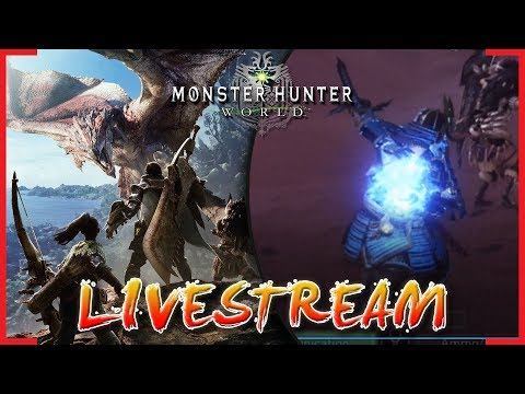 MHW IS BACK! Join My Squad! | Monster Hunter World Live Stream | Part 12