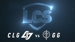 CLG vs GG | Week 4 | Spring Split 2020 | Counter Logic Gaming vs. Golden Guardians