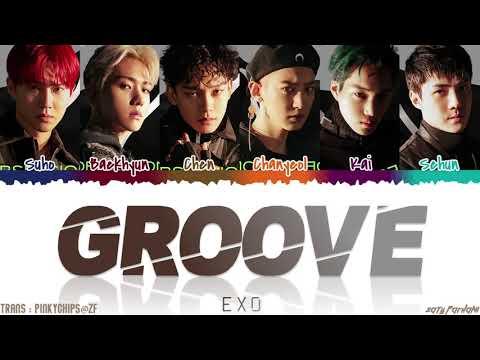 EXO (엑소) - 'GROOVE' (춤) Lyrics [Color Coded_Han_Rom_Eng]