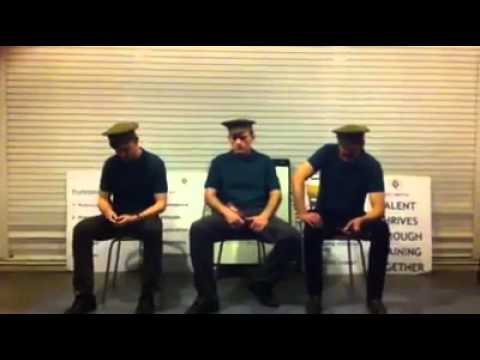 'Stand To & Make Ready' by Kenny O'Connor (Anna Scher Theatre)