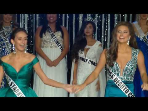 2017 Miss Magnolia State Pageant crowning video all four divisions