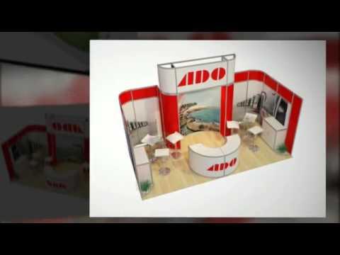 Dise o de stands venta de stands alpha exposiciones for Disenos de stand para exposiciones