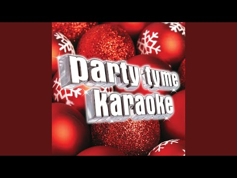 Blue Christmas Made Popular By Celine Dion Karaoke Version Youtube