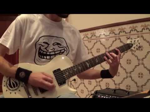 In Flames - Artifacts Of The Black Rain (Guitar Cover) HD