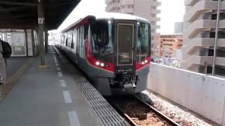 【JR四国2600系】特急うずしお号 栗林駅発車