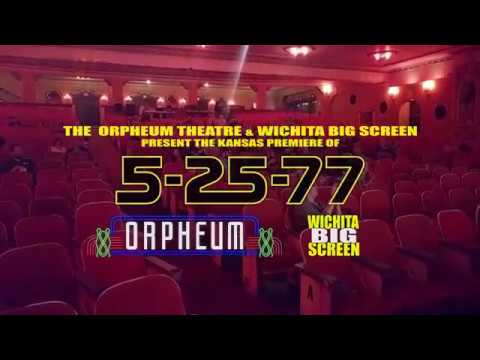 5-25-77 introduced at the Orpheum Theatre in Wichita, Ks on 5-25-2017!