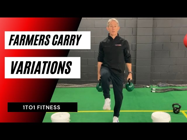 FARMER'S CARRY Your Way To A Very Strong Core!