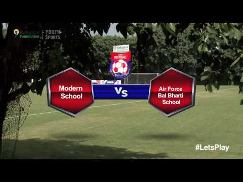 RFYS: Delhi Jr. Boys - Modern School Vs Air Force Bal Bharti School Highlights