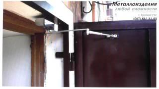 Железные двери в подъезд в Кривом Роге (с кодовым замком)(, 2015-07-03T17:10:12.000Z)