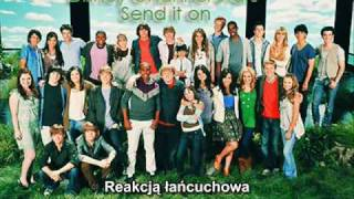 Disney Channel Stars - Send it on {preview - tłumaczenie PL}