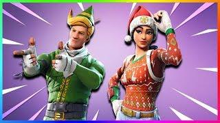 Christmas skins have come back! Presentation Komando Stars | Fortnite