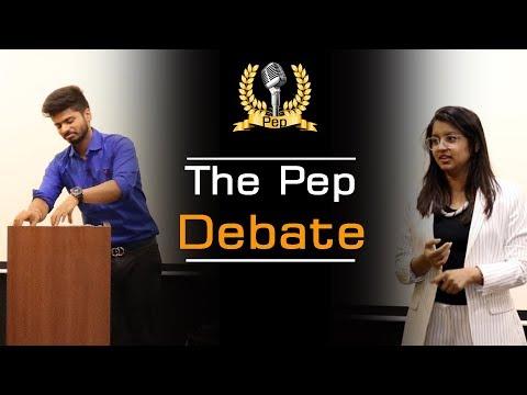 The great Debaters of Pep Talk India - Watch this Amazing Debate