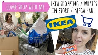 IKEA SHOPPING // WHAT'S IN STORE // COME SHOP WITH ME // MEGA HOMEWARE HAUL
