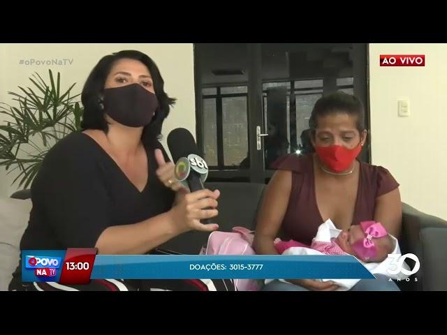 Apelo: Sueli da Silva precisa de ajuda para alimentos os seis filhos - O Povo na TV