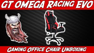 Gt Omega Racing Evo Gaming Office Chair Unboxing!