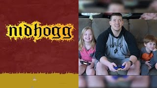 Nidhogg Gameplay on PS4