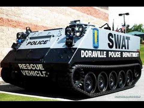 10 Insane Law Enforcement Vehicles