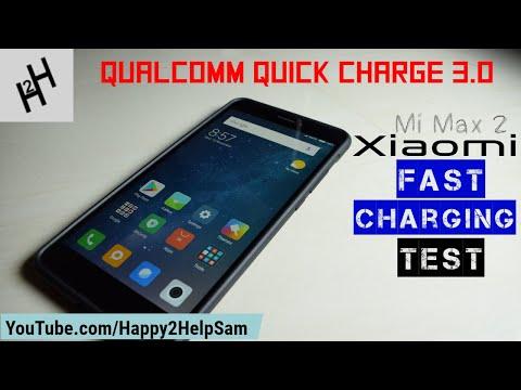 Xiaomi Mi Max 2 Charging Test- 5300 mAh battery - Qualcomm Quick Charge 3.0