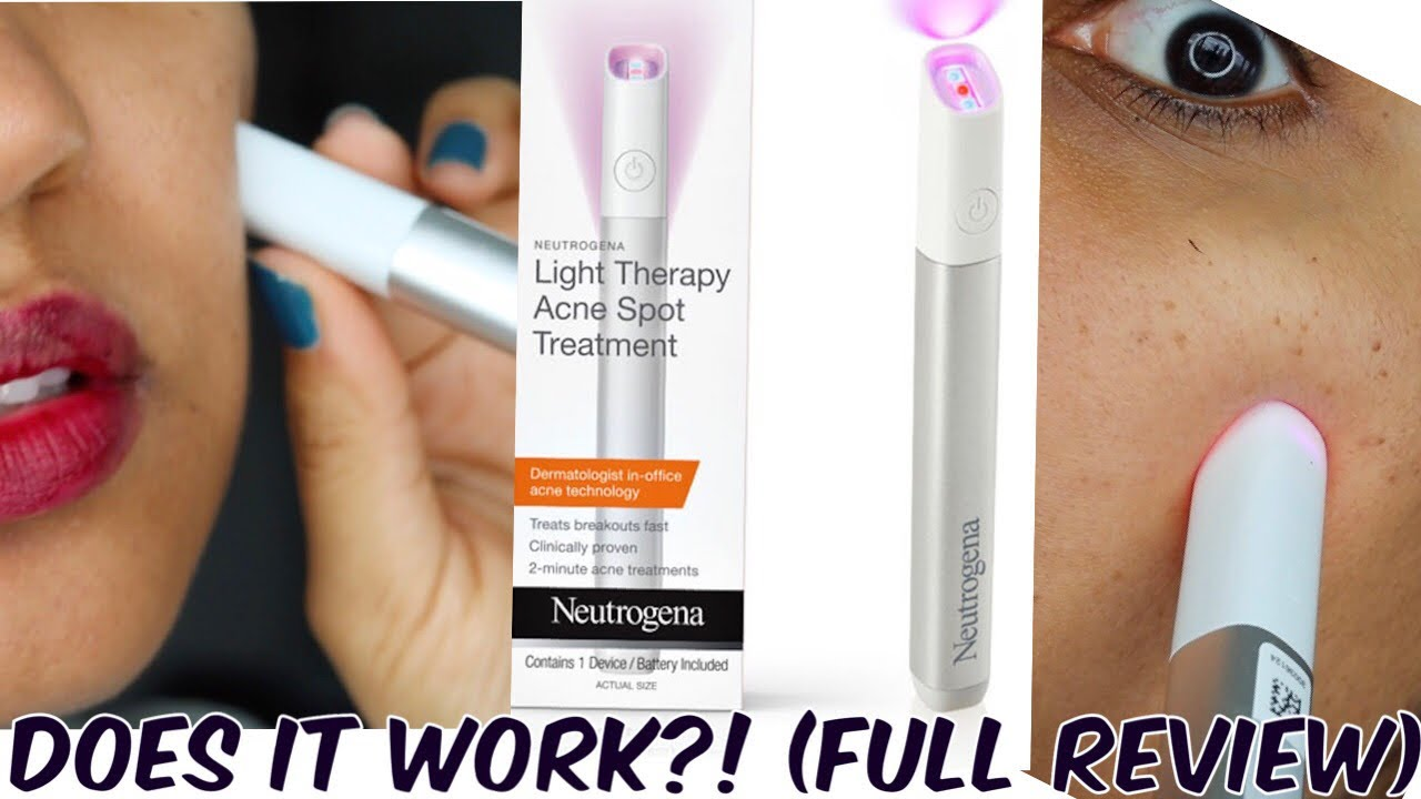 Testing Neutrogena Light Therapy Pen For Acne Is It Worth It