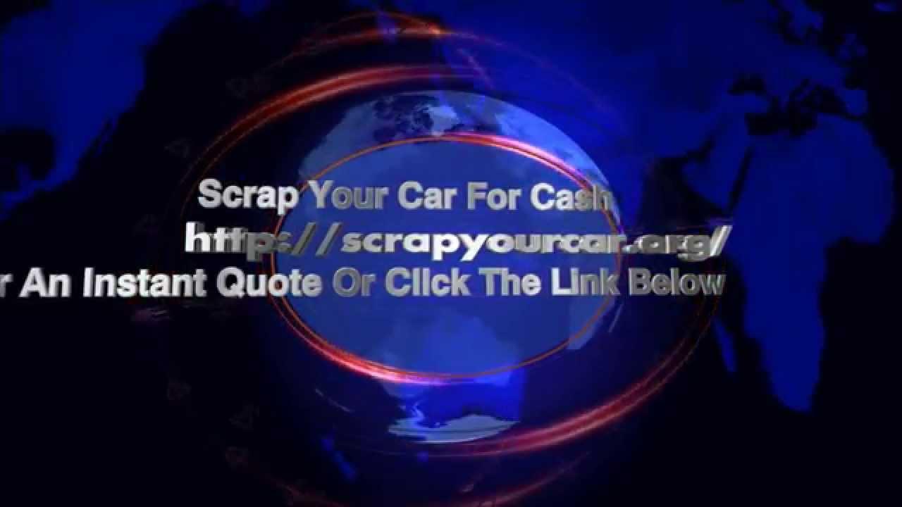 Scrap Your Car Scrap My Car - YouTube