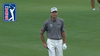 Jim Furyk's eagle hole-out from 83 yards at Dell Match Play