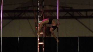 "Jenyne Butterfly -  Pole Convention 2011 - Music ""Dog Days Are Over"" By: Florence and the Machine"