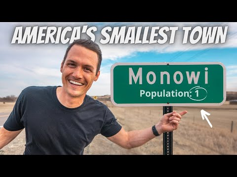 THIS IS AMERICA'S SMALLEST TOWN (meet the ONLY resident)