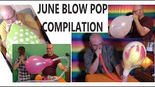 Balloon Bursting Compilation June Tangobaldy™ Family Friendly Fun video